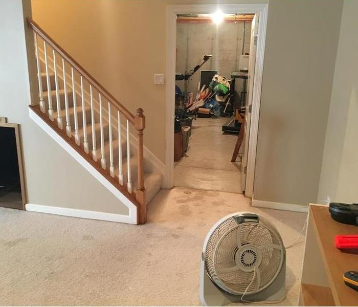 Water Damage in Loveland, Ohio Before