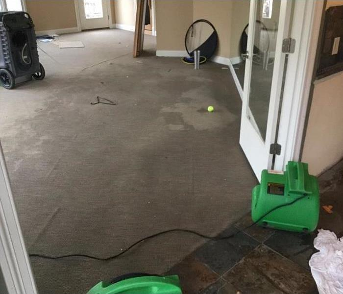 Water Damage in Cincinnati, Ohio Before