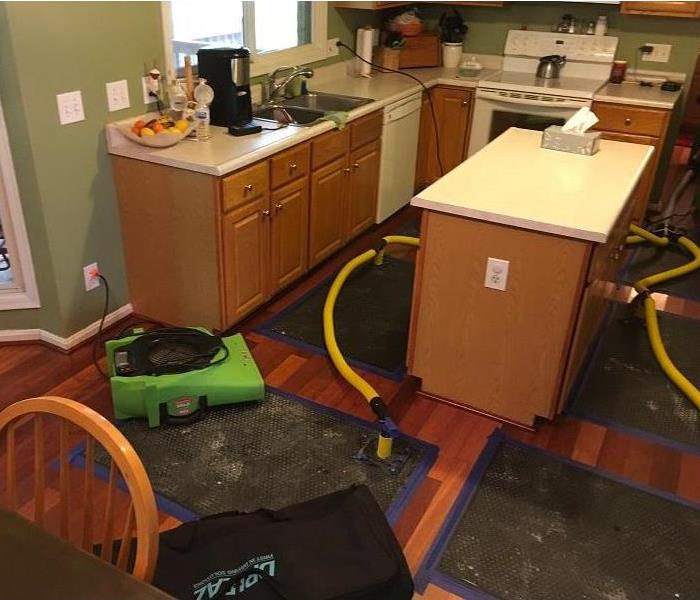 Water Damage in West Chester, Ohio After