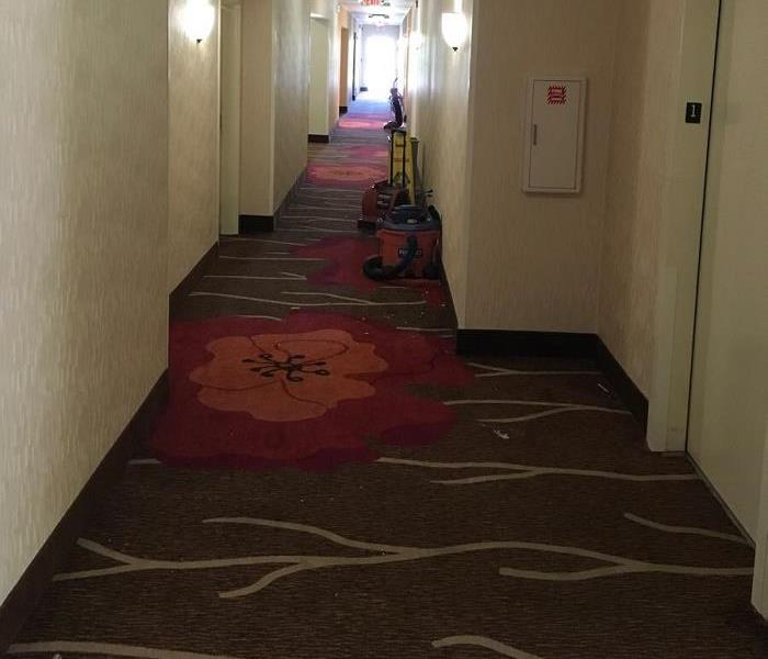 Water Damage to Commercial Property in Loveland, Ohio Before