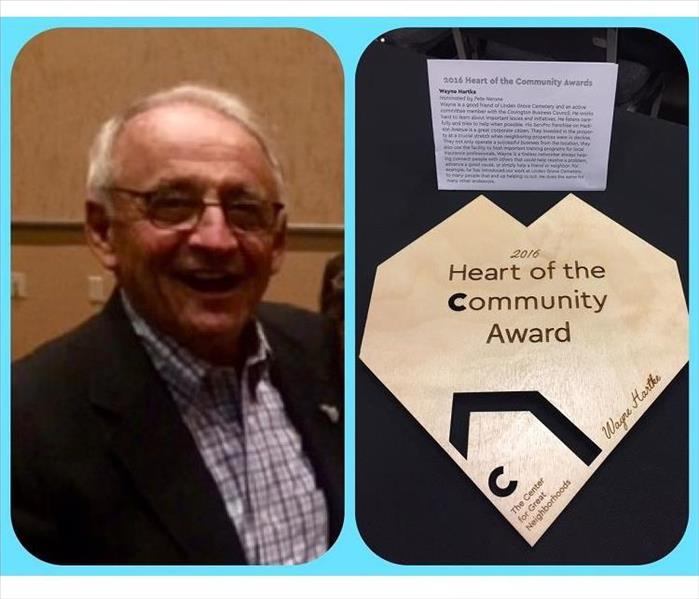 Wayne Hartke Awarded in Covington, Kentucky for Dedication to Community