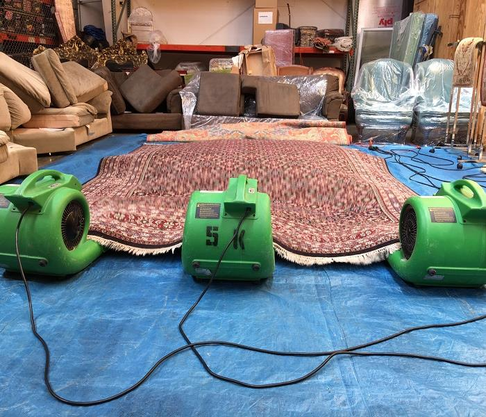 Restoring Carpet After Water Damage