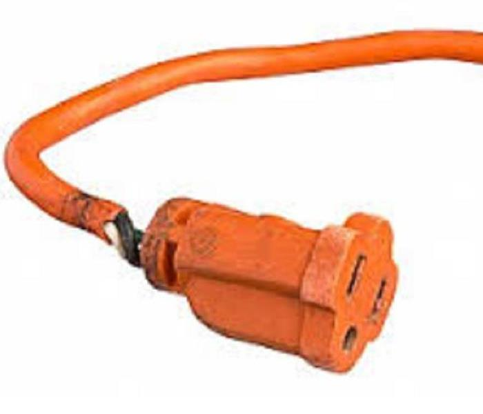 Damaged Electrical Cords : Extension cords risks how to avoid them servpro of