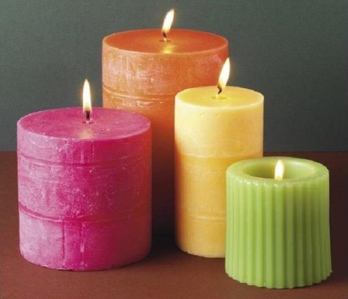 Fire Damage Safety Suggestions for Scented Candles