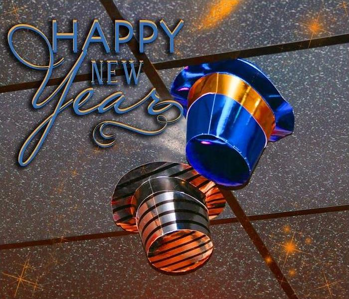 Storm Damage Happy New Year from SERVPRO of Northeast Cincinnati!